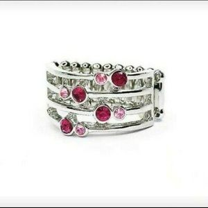 Sparkle Showdown Pink Ring